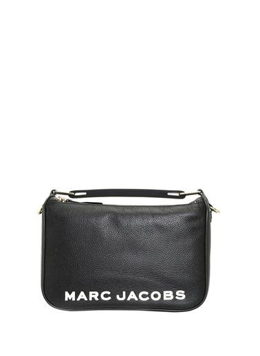 Marc Jacobs Marc Jacobs  Logolu Kadın Deri Omuz Çantası 101620424 Siyah